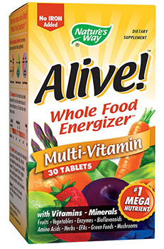 multivitamine alive secom energie